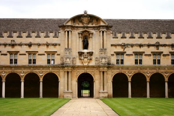 St John's College, Canterbury Quad